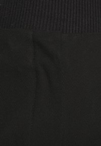 Selected Femme - SLFLINA WIDE ANKLE PANT - Trousers - black - 5