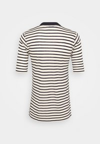 Scotch & Soda - STRIPED TEE WITH HIGH NECK - T-shirt print - combo - 1