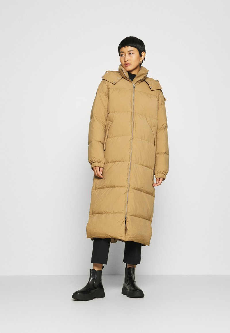ARKET - COAT - Down coat - beige dark