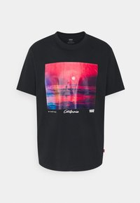 Levi's® - TEE UNISEX - T-shirt con stampa - caviar - 0