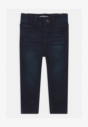 SKINNY PULL ON UNISEX - Džíny Slim Fit - dark-blue denim