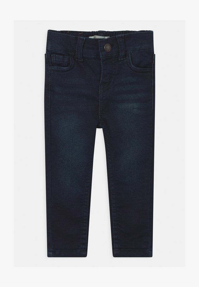 SKINNY PULL ON UNISEX - Jean slim - dark-blue denim