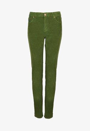 MIT GERADEM BEIN - Straight leg jeans - feldgrün