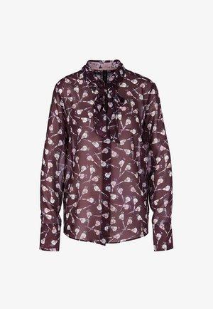 BIRD  - Button-down blouse - lila