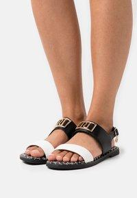 River Island Wide Fit - Sandals - black - 0