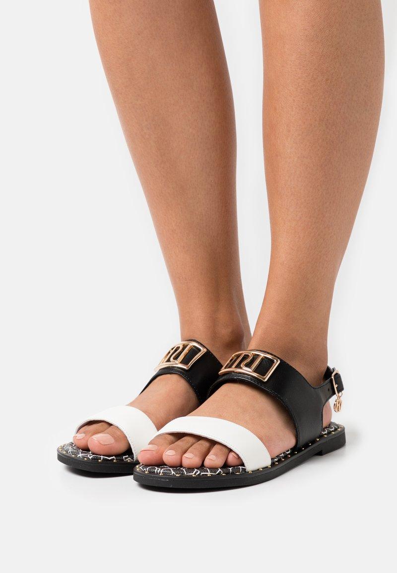 River Island Wide Fit - Sandals - black