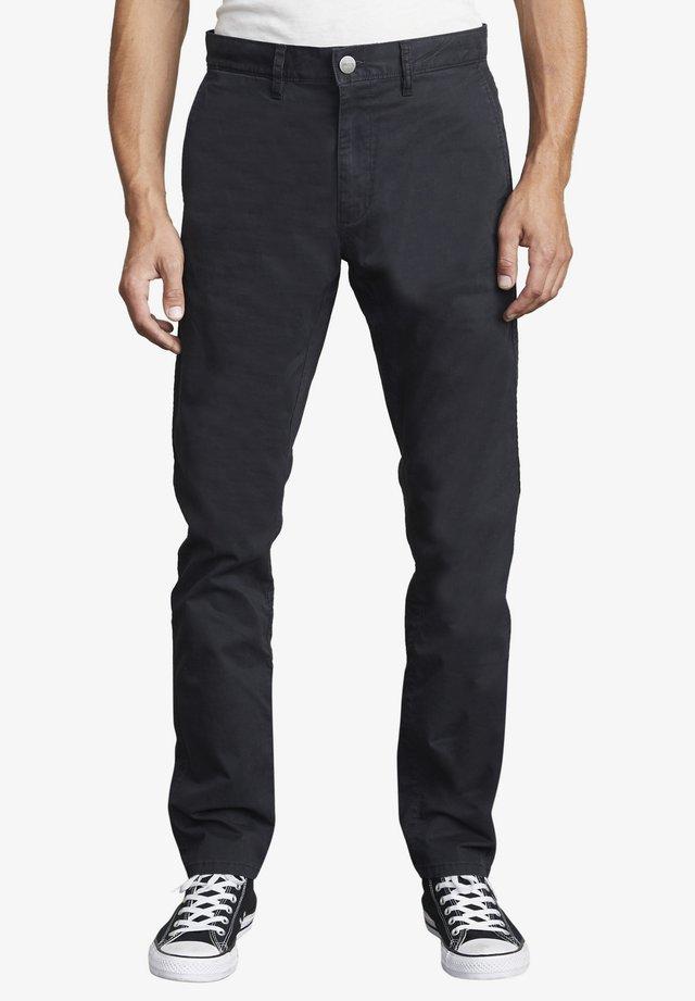 DAGGERS - Pantalon classique - rvca black