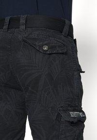 Schott - Cargo trousers - navy - 5