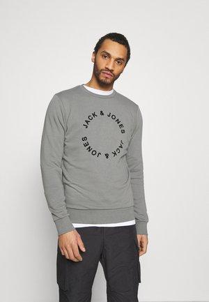 JJCIRCLE FLOCK CREW NECK - Sweatshirt - sedona sage