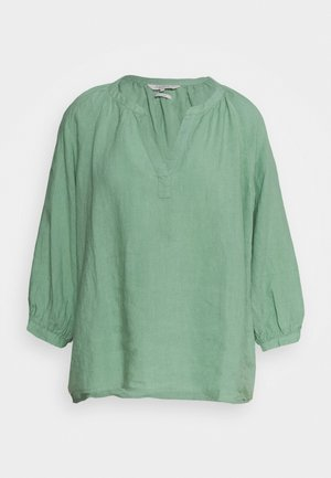 Blouse - granite green