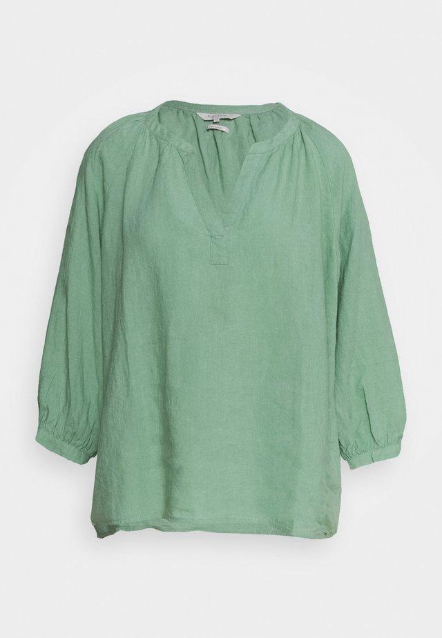 Blouse - granite green