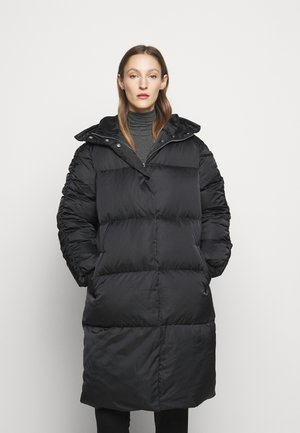 PUFF THINK TWICE - Down coat - black
