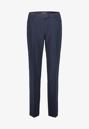 MIT BÜGELFALTE - Trousers - dark blue