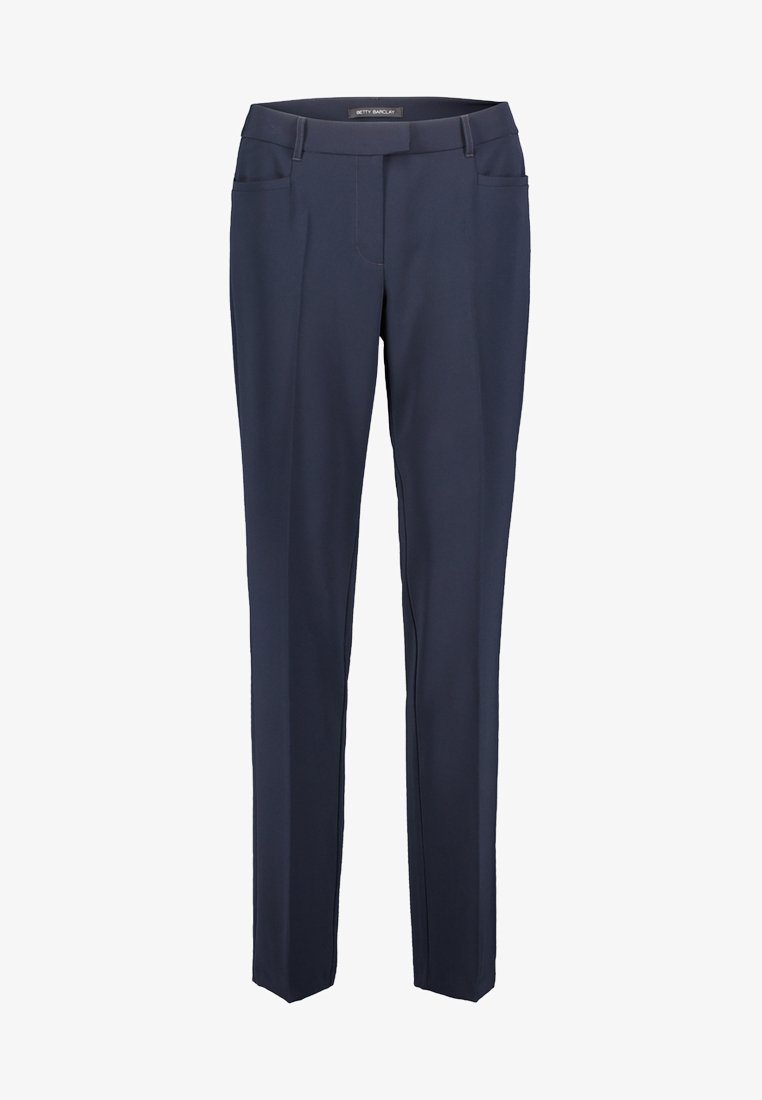 Betty Barclay - MIT BÜGELFALTE - Trousers - dark blue