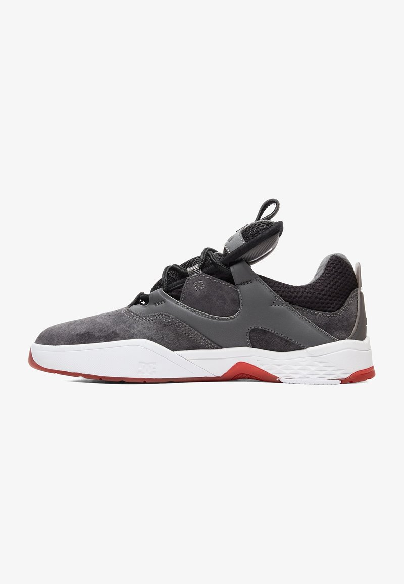 DC Shoes - Skate shoes - GREY/BLACK/RED