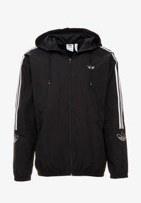 adidas Originals - OUTLINE WINDBREAKER JACKET - Let jakke / Sommerjakker - black - 4