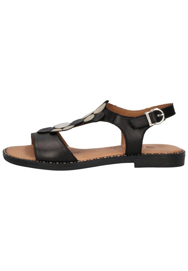 Sandalen - schwarz/graphit