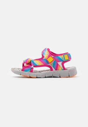 Sandals - fuxia/multicolor