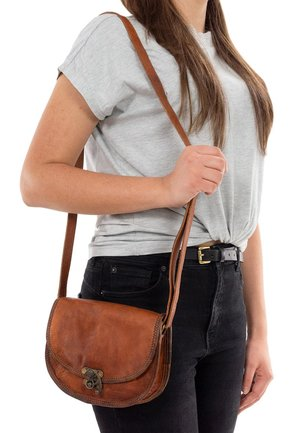 ROSA - Across body bag - brown