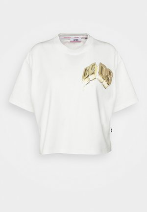 ICE DREAM VINTAGE - T-shirts med print - bianco scuro