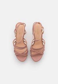 Even&Odd Wide Fit - Platform sandals - light pink - 5