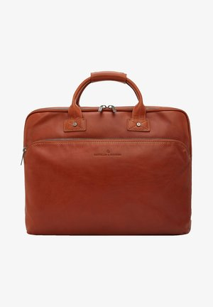 Briefcase - light brown