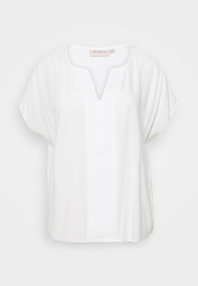 CARROMANA IN ONE - Triko spotiskem - bright white