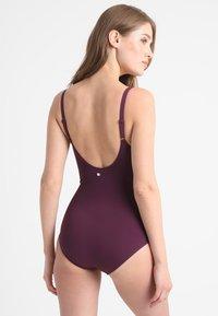 LASCANA - SWIMSUIT - Swimsuit - bordeaux - 2