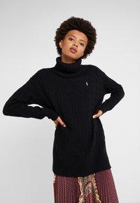 Polo Ralph Lauren - BLEND - Strickpullover - black - 0