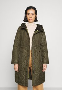 comma casual identity - Classic coat - khaki - 3