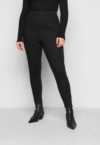 New Look Curves - LIFT AND SHAPE - Kalhoty - black - 0