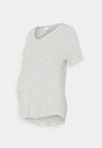 MAMALICIOUS - MLALISON MIX 2 PACK - T-shirt z nadrukiem - black/snow white - 3