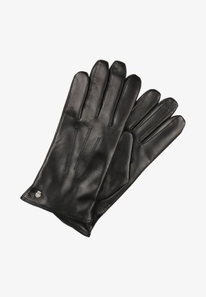 KLASSIKER WOLLE - Gloves - navy