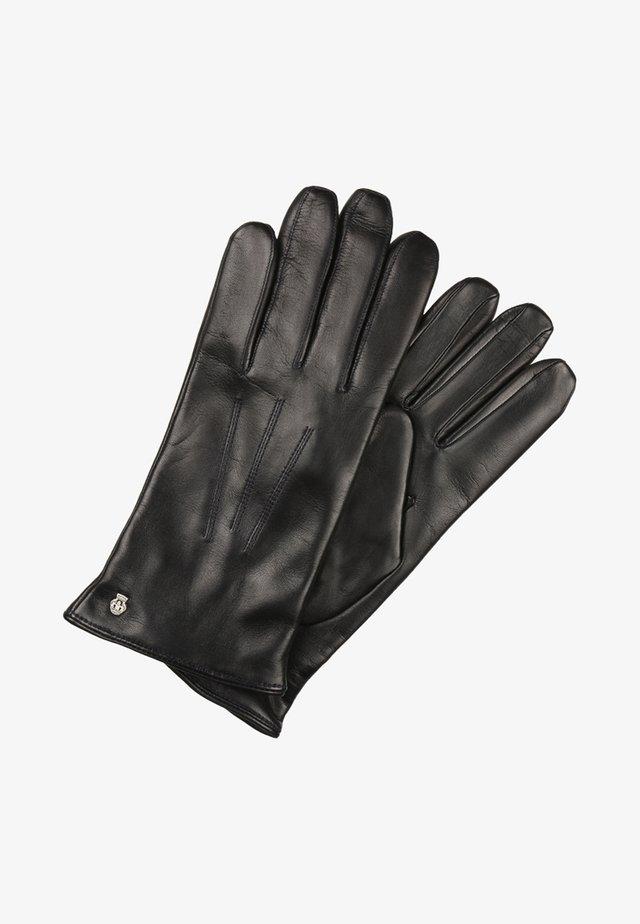 KLASSIKER WOLLE - Gloves - navy