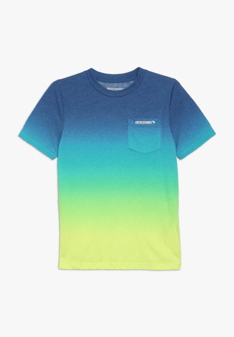Abercrombie & Fitch - PATTERN - Print T-shirt - blue