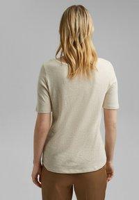 Esprit - Basic T-shirt - light beige - 2