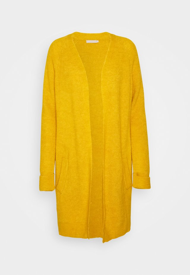 PCELLEN LONG - Cardigan - nugget gold