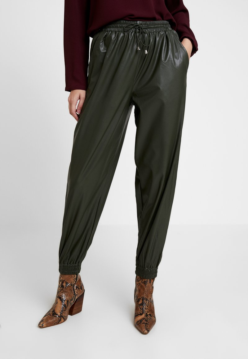 River Island - Tracksuit bottoms - khaki