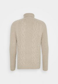 Banana Republic - CABLE NECK - Jumper - vintage tan - 1