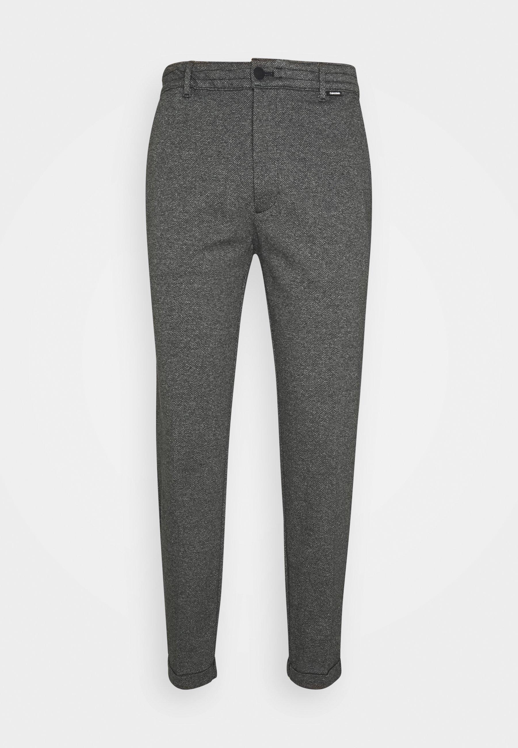 Uomo COMFORT MOULINE STRUCTURE - Pantaloni