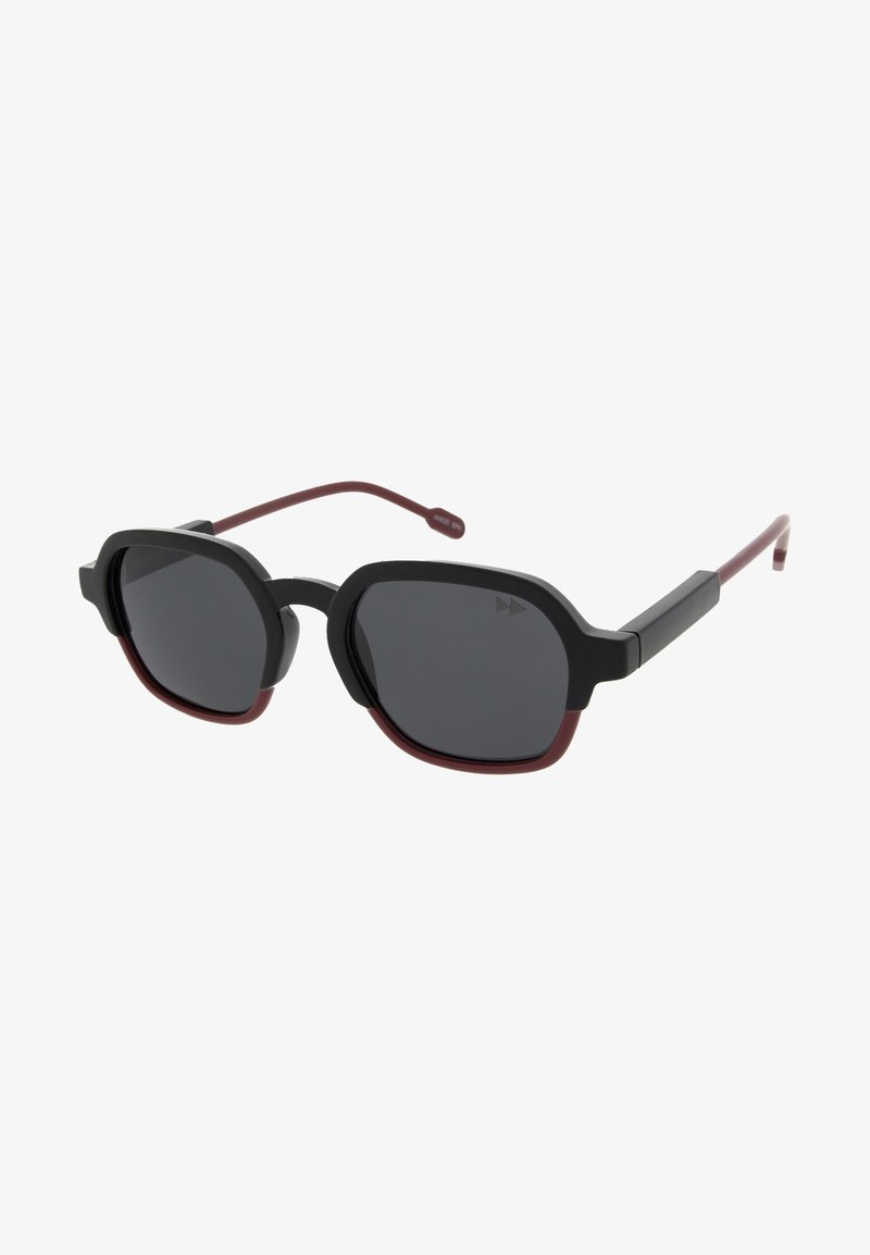 Sunheroes - GLENN - Sunglasses - black/burgundy