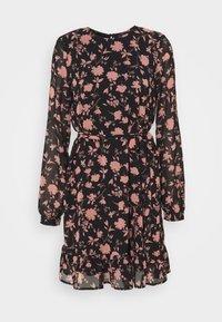 Vero Moda Petite - VMICY SHORT DRESS - Day dress - black - 0