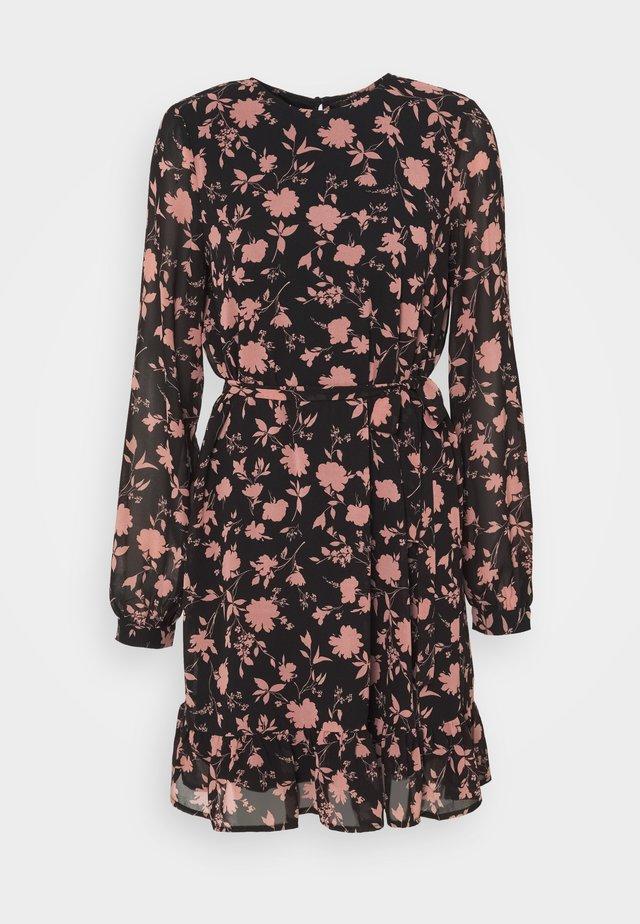 VMICY SHORT DRESS - Korte jurk - black
