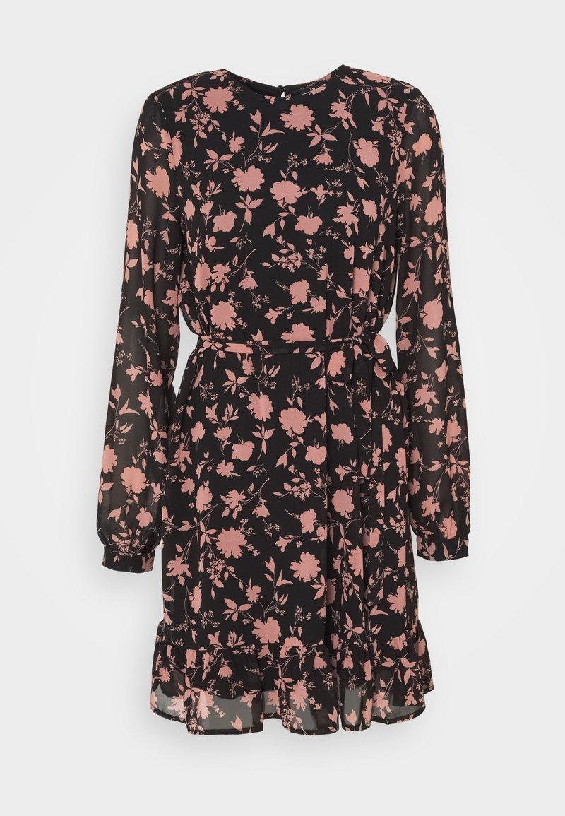 Vero Moda Petite - VMICY SHORT DRESS - Day dress - black