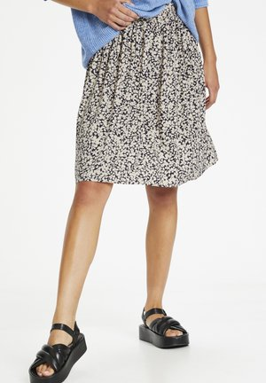 SLGABY ILIO  - A-line skirt - buttercup print parisian night
