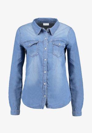 VIBISTA DENIM SHIRT - Skjorte - medium blue denim