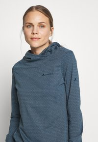 Vaude - WOMENS TUENNO PULLOVER - Langærmede T-shirts - baltic sea - 3
