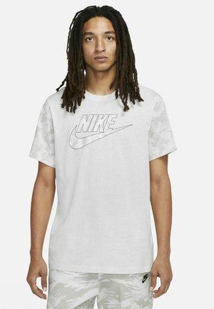 Print T-shirt - summit white