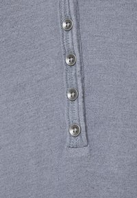 Abercrombie & Fitch - COZY HENLEY - Jumper - medium blue - 5