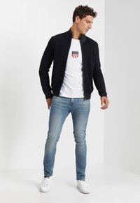 GANT - SHIELD - Long sleeved top - white - 1